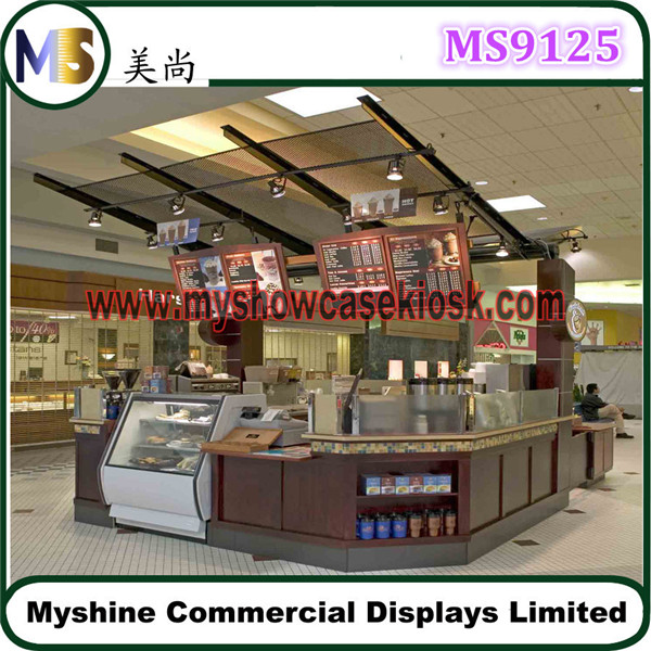 Indoor food kiosk design in mall shopping mall food for Indoor food kiosk design